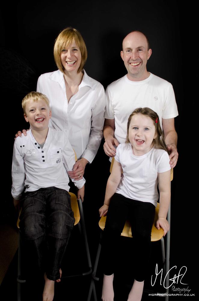 Hobbs Family (Home Studio Shoot)