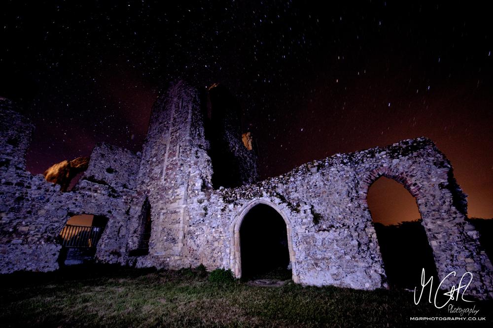 Leiston Abbey at Night